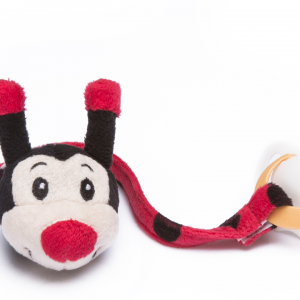Lady bug Pacifier dummy holder