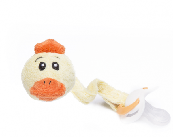 Duck Pacifier dummy holder