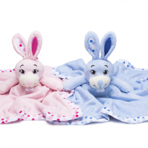 Pink and blue Rabbit Comforter