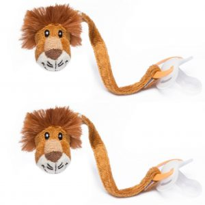 Lion Dummy Clip Pack of 2