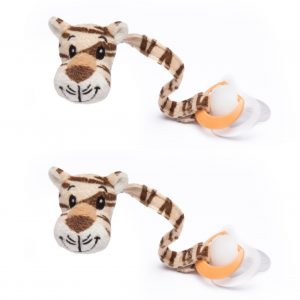 Tiger Dummy Clip Pack of 2