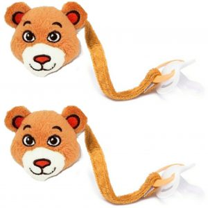 Bear Dummy Clip Pack of 2