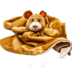Bear comforter safari