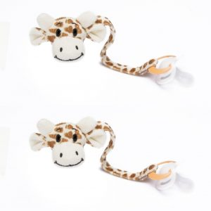 Giraffe Dummy strong Clip Pack of 2